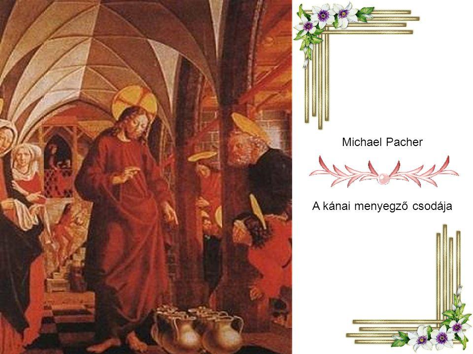 Michael Pacher A kánai menyegző csodája