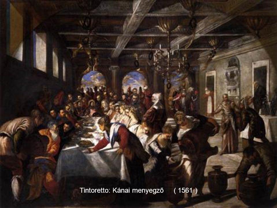 Tintoretto: Kánai menyegző ( 1561 )
