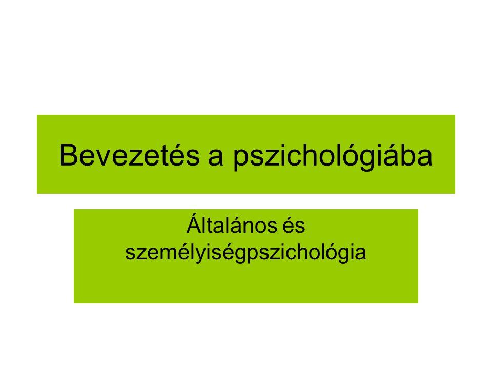 Személyészlelés Empátia Első benyomás Attribúció Kategorizáció (sztereotípia, előítélet).