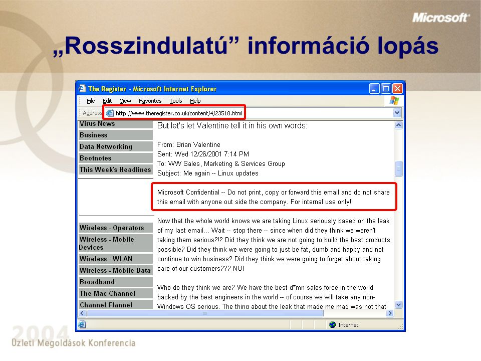 A probléma vállalat File hozzáférés információk munkatársak