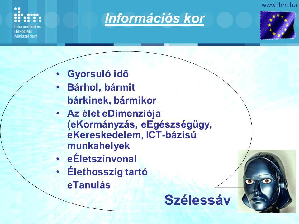 www.ihm.hu A tudás paradigmái Rendezett káosz Készségek, Kompetenciák Felfedezés, Megismerés, Navigálás, Barangolás, Keresés A képzelőerő hatalma Web identitás, rugalmasság, szerepjátszás A gyermekkor újrafelfedezése Spontaneitás, kreativitás Rend Tények, adatok, szabványok Vezetés, Irányítás Memória Stigmatizált képzelőerő Autoritás, Konvencionalizmus Fix identitás Elnyomott gyermekkor Hősök, mártírok, hírességekIstenek
