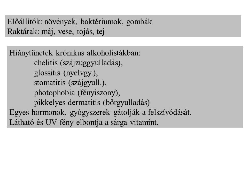 Niacin, nikotinsav, nikotinsavamid =B3 vit.