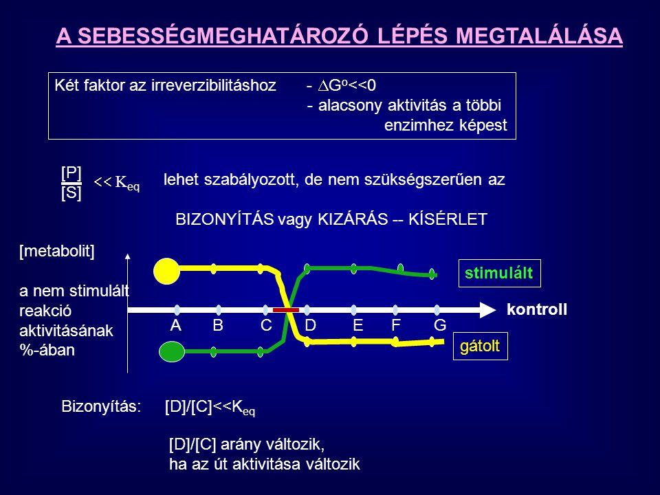 S out + Permeáz S-Permeaz S in v MAX [S] out K M +[S] out Ha [S] in ->0 TRANSZPORTFEHÉRJÉK ENZIMSZERŰ TULAJDONSÁGAI Passzív, vagy aktíva szabadenergiaváltozás határozza meg a mechanizmust Passzív – spontán (energia igény nélkül) végbemegy Töltetlen molekula Kötés K D glukóz [glukoz] out Transzport fehérje [glukoz] in 0 10 10 2 10 3 10 4 10 5 ln (c in /c out ) GG  G=RTln (c in /c out ) v=v= V Glu felvétel 0 1 2 3 4 5 6 Gl out ) Facilitált diffúzió Feltétel: [gl] in  0 v MAX K M glukóz=1.1 mM