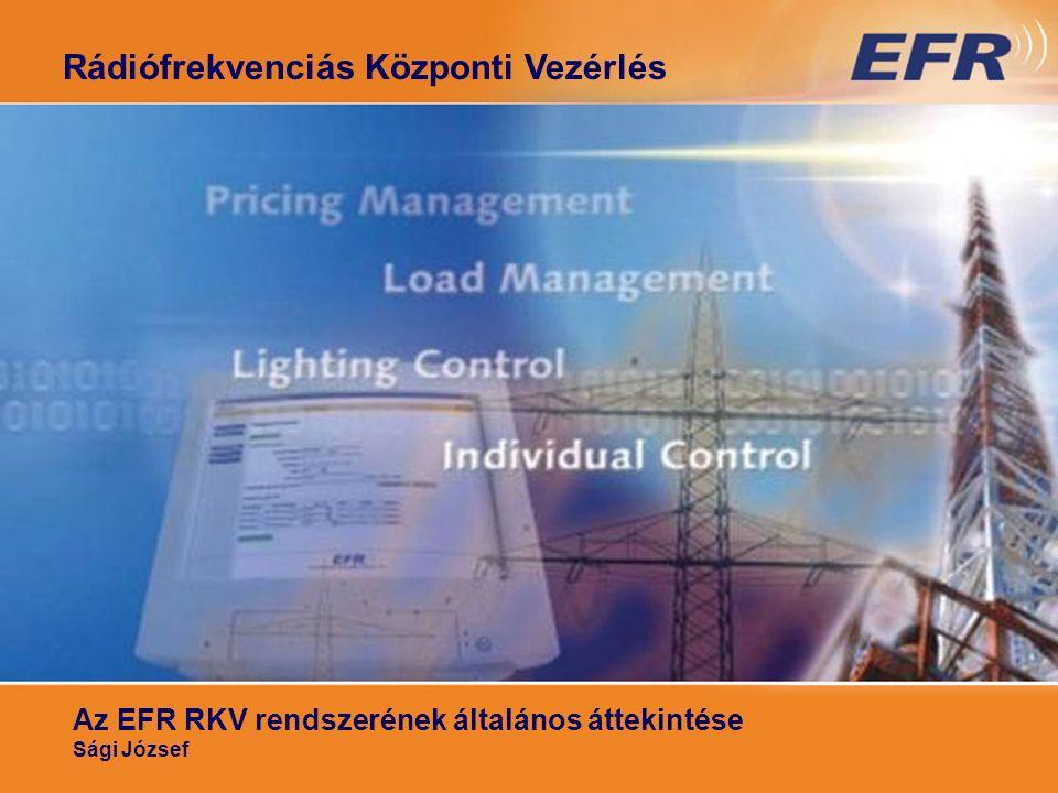 RKV általános áttekintése I. RKV Rádiós Központi Vezérlés