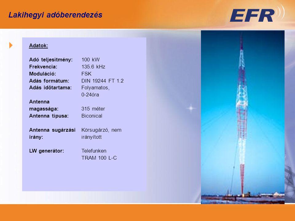 RKV vevőkészülék – általános tulajdonságok Hálózati csatlakozás az EN61037 (MSZ-IEC1037) Programozás PC-vel vagy egyéb intelligens hordozható eszközzel, amely optikai vagy elektronikus interfésszel csatlakoztatható a vevőhöz Antenna házba integrálva, szükség esetén kívülre is szerelhető Relék: 1-6 db bi-stabil, potenciál független záró vagy váltó érintkezővel, állás jelzéssel és kézi működtetés lehetőségével Kiegészítők: helyszíni optikai és/vagy akusztikai hangoló egység, paraméterező egység, laboratóriumi működés tesztelő egységek Adat átviteli frekvencia: 129.1 kHz, 135.6 kHz, 139.0 kHz, Moduláció: FSK, DIN 19244 szerint, Távirat formák: Semagyr-Top or Versacom, Érzékenység: >55 dBµV/m