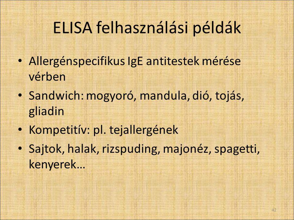 ELISA termékek Piaci áttekintés 43