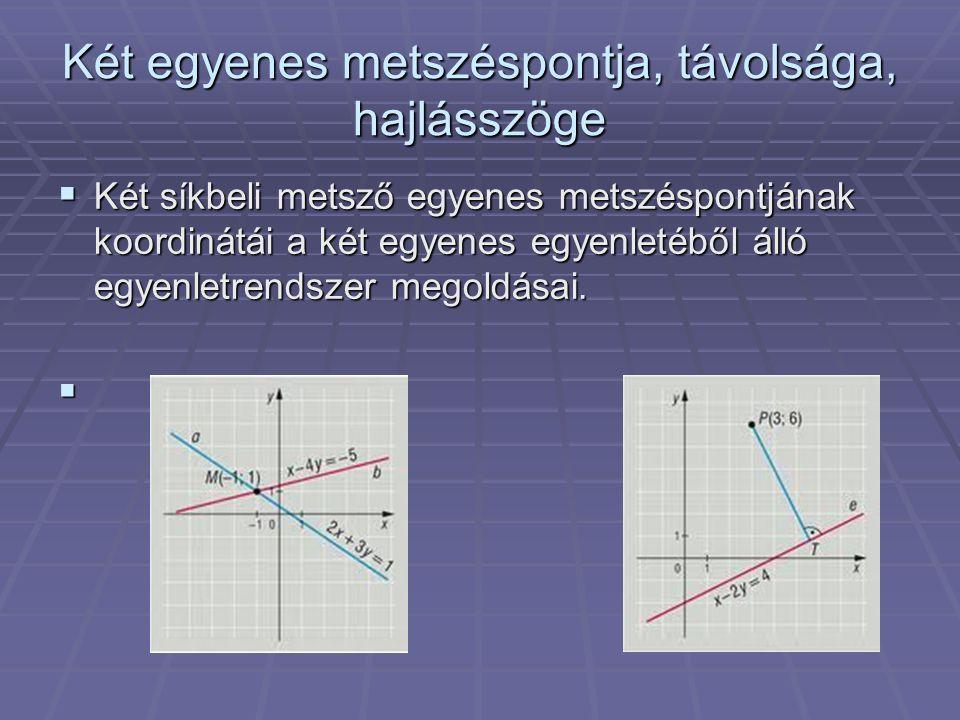 A kör egyenlete  Kaptuk, hogy a P (x;y) pont akkor és csak akkor illeszkedik a K (u;v) középpontú, r sugarú körre (körvolnalra), ha (x - u)² + (y - v)² = r².
