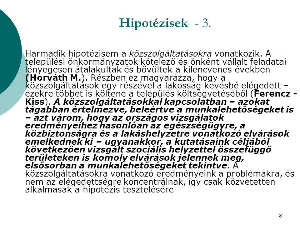 9 Hipotézisek - 4.