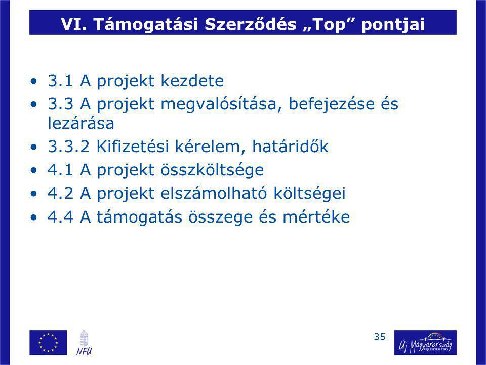 36 VII.Jogszabályi háttér  281/2006. (XII. 23.) Korm.