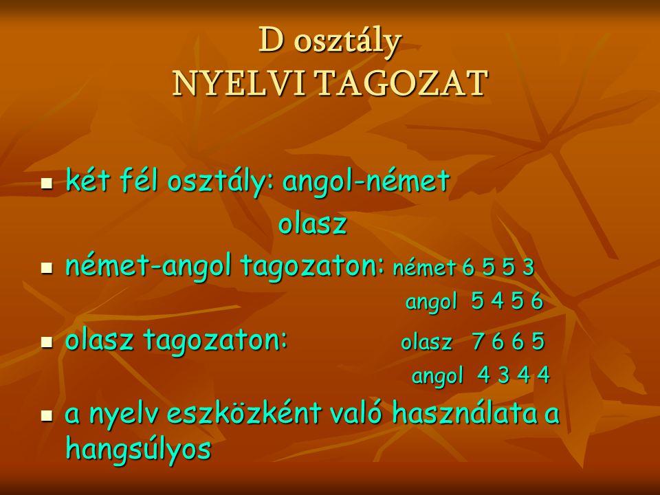 Kétszintű felvételi rendszer  Felvételi eljárást megelőző (központi) írásbeli  (belső) iskolai vizsgák  írásbeli és szóbeli: a megjelölt tagozat jellegének megfelelő tárgy(ak)ból  csak írásbeli: magyar nyelvből és matematikából Iskolai pontszámítás szerinti NEM NULLA pontot írók
