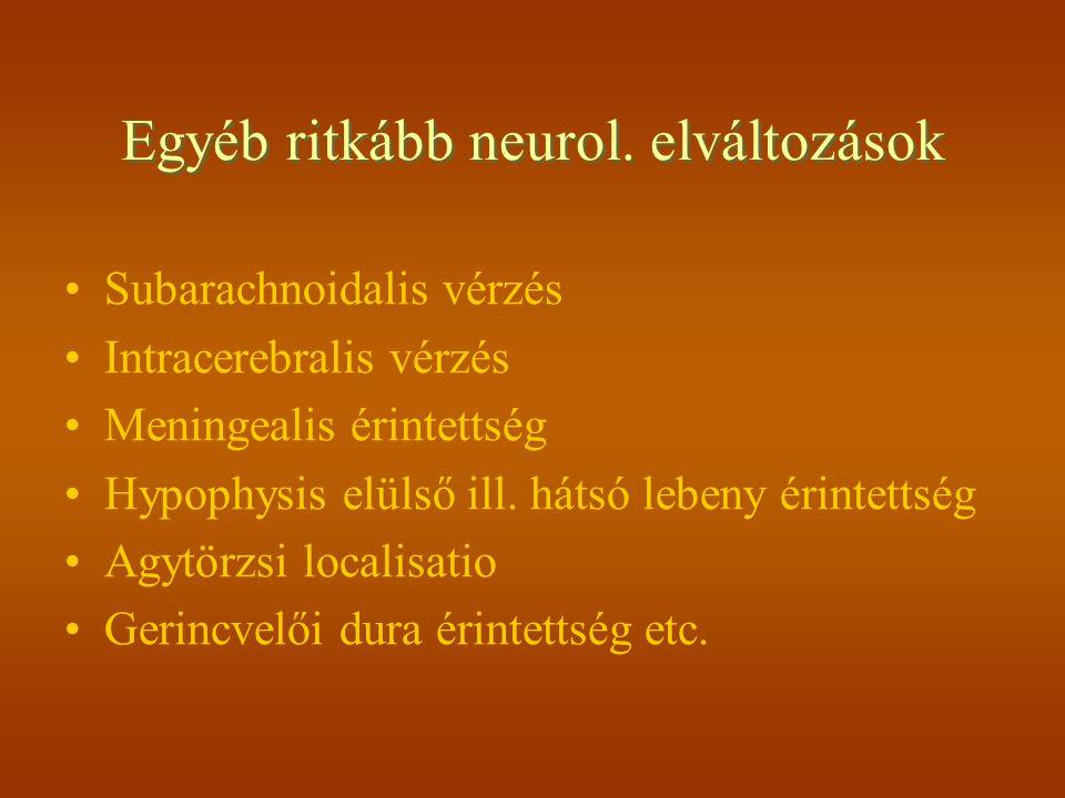 Életkori megoszlás A betegség leggyakoribb a 4.-5.