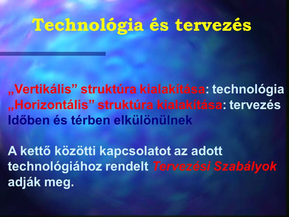 VLSI áramkörök gyártástechnológiája: planár technológia A planár szó arra utal, hogy az integrált áramkörök gyártása síkbeli elrendezésben történik.