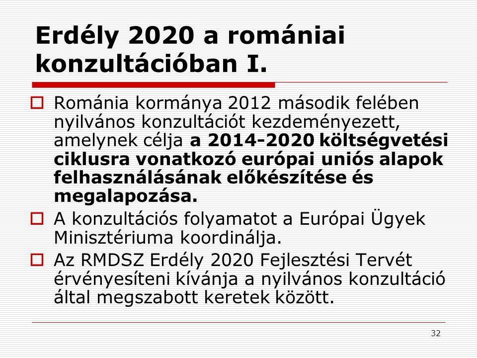 33 Erdély 2020 a romániai konzultációban II.