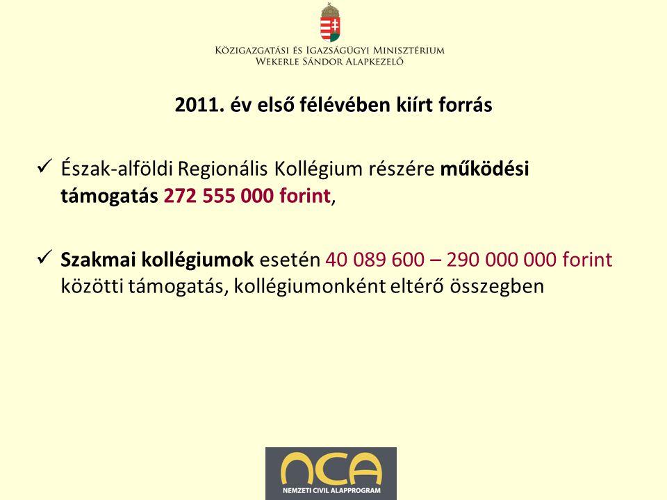 Pályázatot nyújthatnak be társadalmi szervezetetek/alapítványok, amelyeket a bíróság a kiírás évének első napja előtt legalább egy évvel jogerősen nyilvántartásba vett, vagyis 2009.