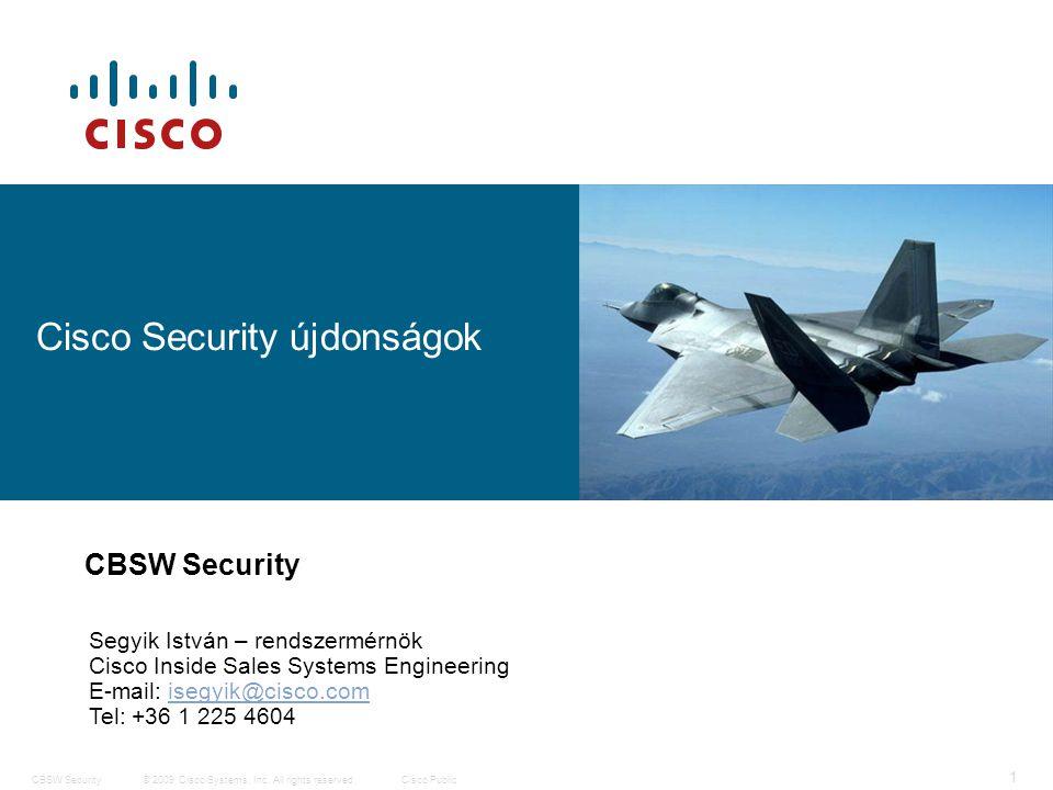 2 © 2009 Cisco Systems, Inc.