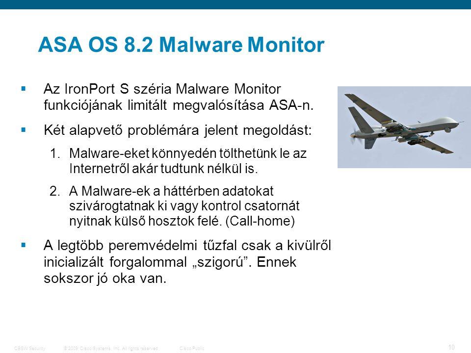 11 © 2009 Cisco Systems, Inc.
