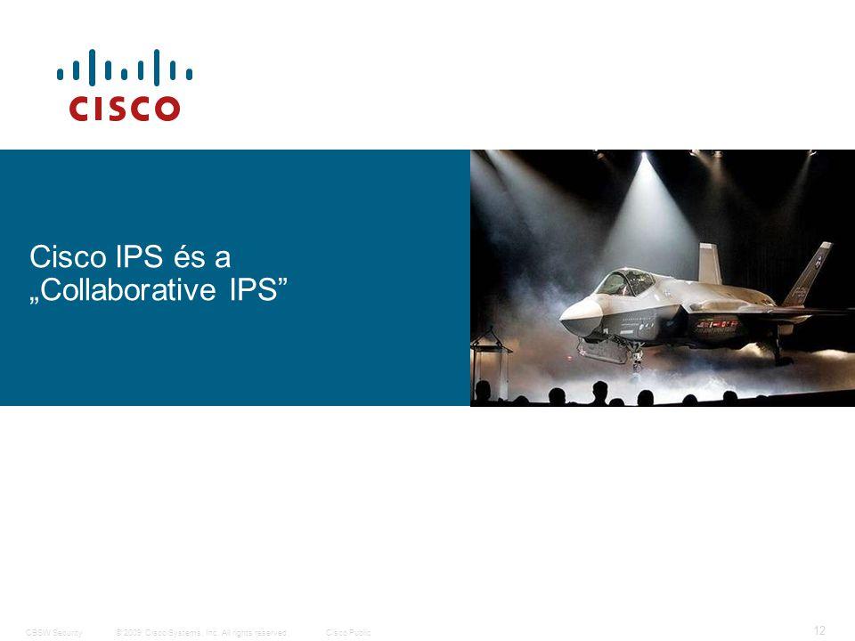 13 © 2009 Cisco Systems, Inc.