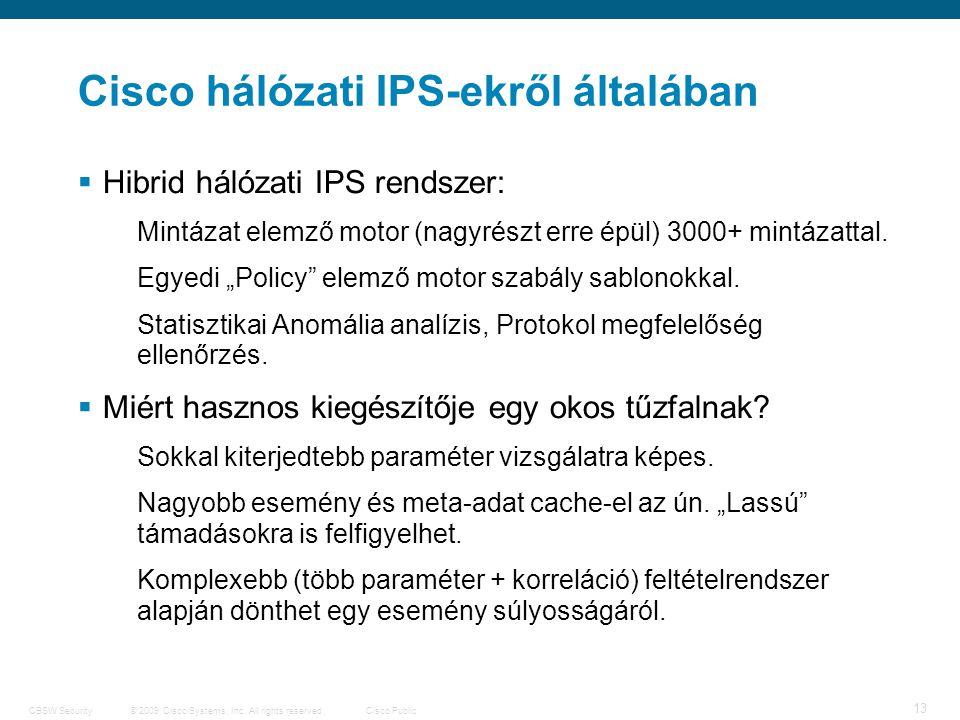 14 © 2009 Cisco Systems, Inc.