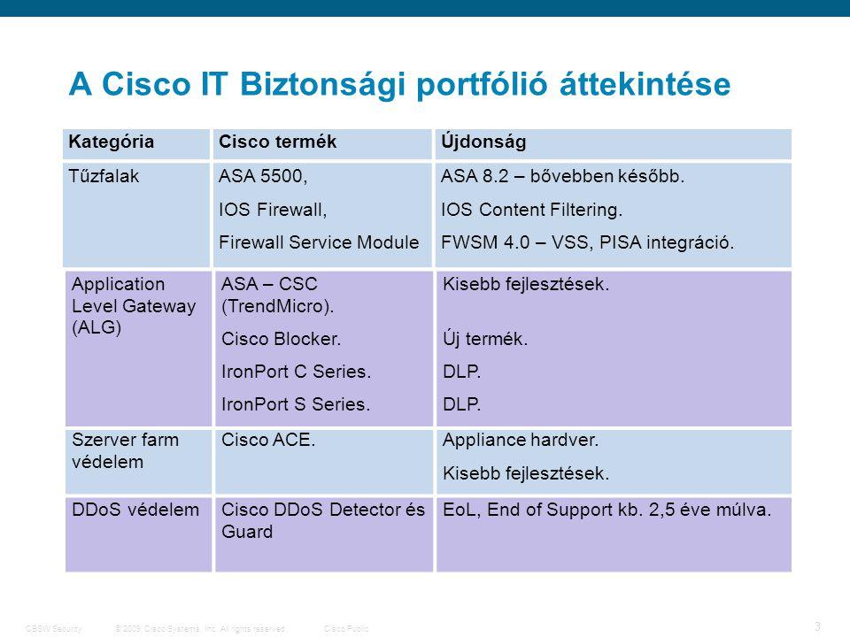 4 © 2009 Cisco Systems, Inc.