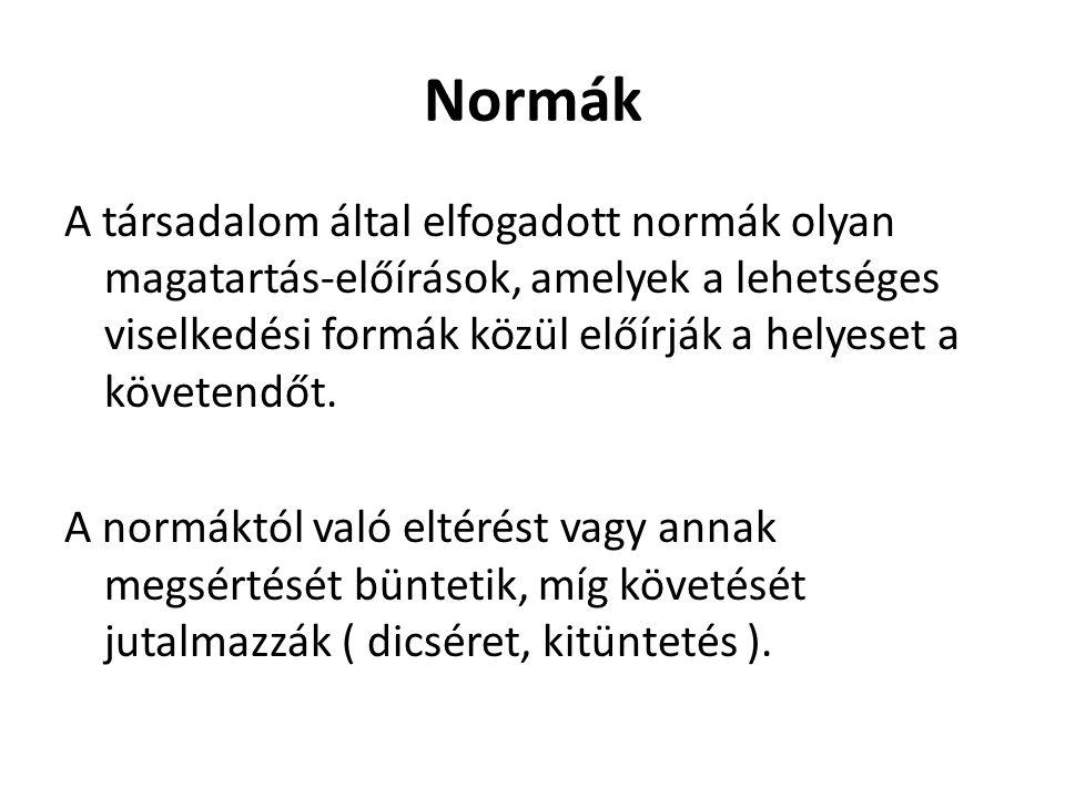 Normatípusok 1.
