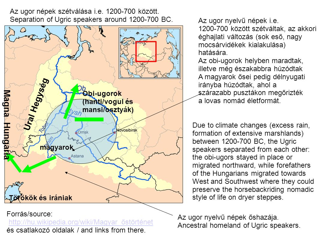 Egészen 1240-ig (a tatarjárásig) magyarok lakta terület, Julianus barát, 1240-es utazásakor itt találta meg a keleten maradt magyarokat, akiknek a nyelve azonos volt a Kárpát-medencei Magyarokéval.
