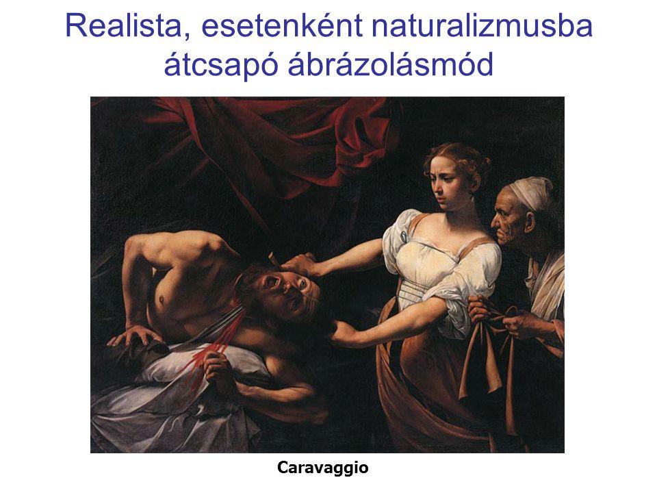 Teatralitás (= színpadiasság) Rembrandt