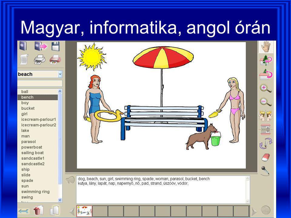 Lapodamese-kép interaktív táblán (magyar nyelvű szoftverben)