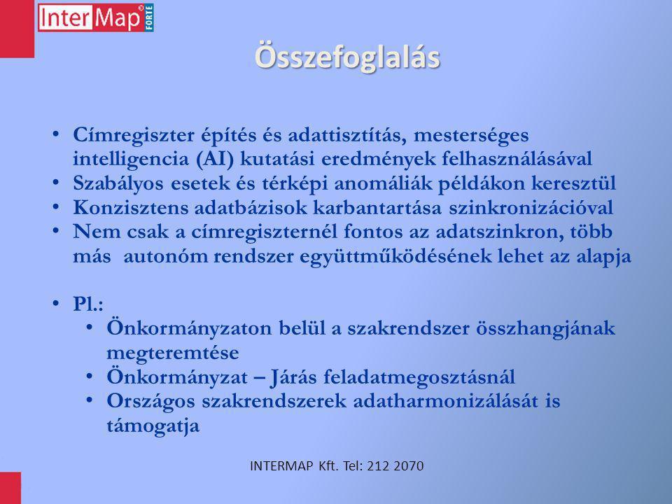 INTERMAP Térinformatikai és Közigazgatás fejlesztési Iroda Kft.