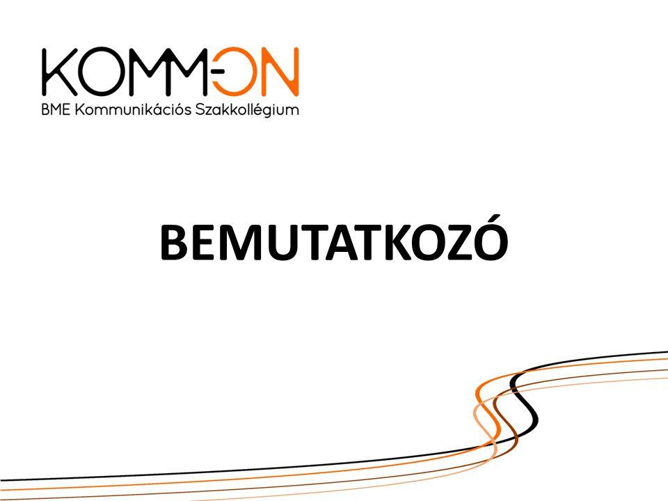 A SZAKKOLLÉGIUMRÓL A KommON 2012-ben alakult a Budapesti Műszaki és Gazdaságtudományi Egyetemen, elődszervezetei, a Mesterhallgatók Tanszéki Munkacsoportja és a Tekhné csoport közreműködésével.