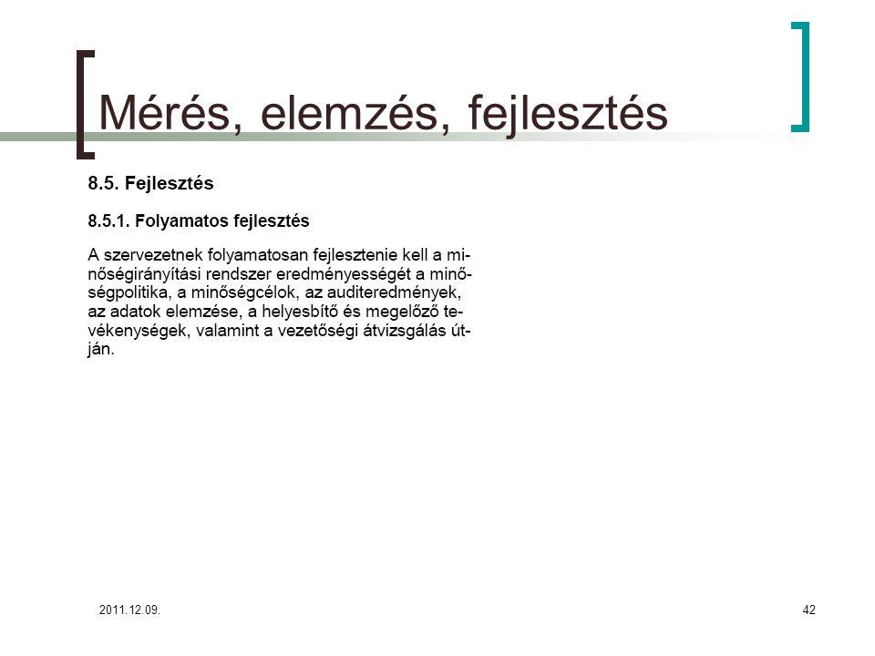 2011.12.09.43 Parmezán Pizza- Mérés, elemzés, fejlesztés (8.5.) A Parmezán Pizza célja, hogy minőségirányítási rendszerét, a vevőknek nyújtott szolgáltatásait, termékpalettáját folyamatosan fejlessze.