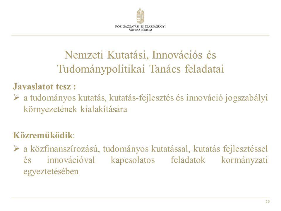 17 Közigazgatási innováció