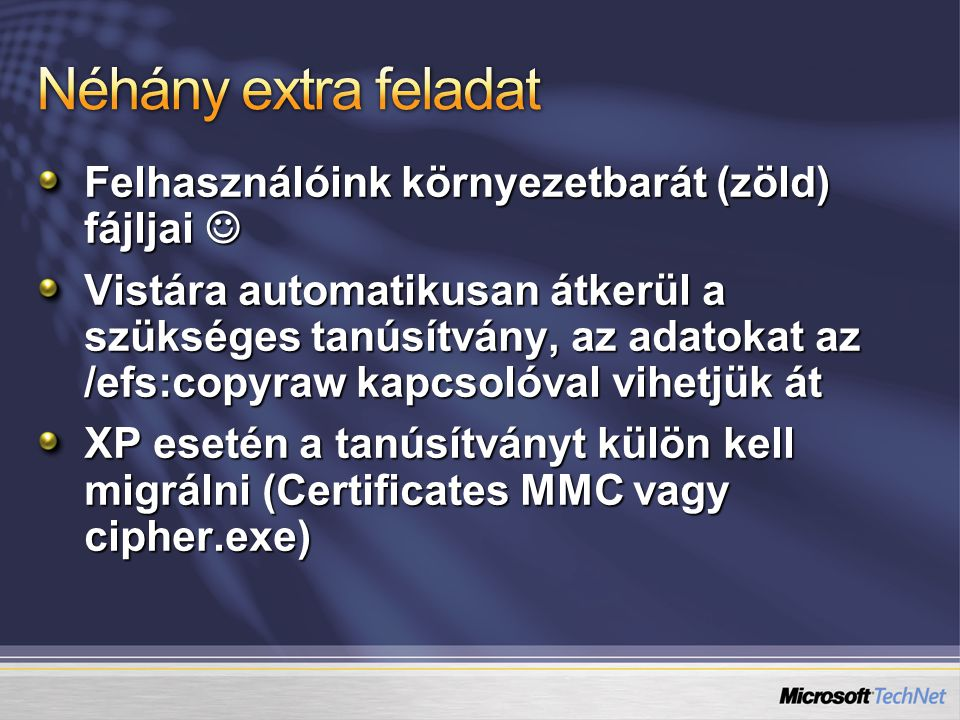 C:> loadstate /i:migapp.xml /i:miguser.xml