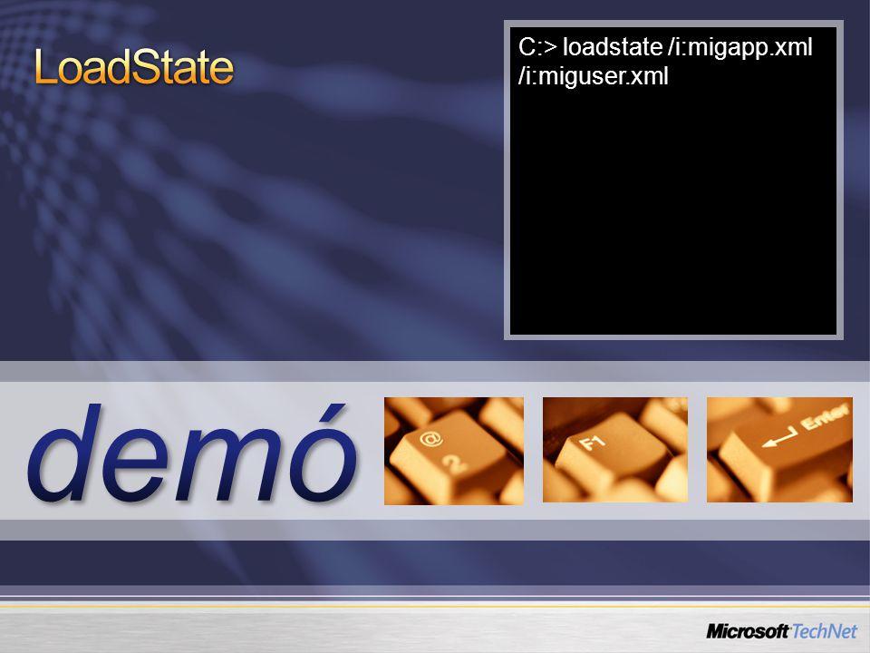 """Teljes integráció a System Center Configuration Manager 2007-tel Az ügyféltelepítési """"Task Sequence része lehet Az adatok tárolója a 'State Migration Point' Az SMP egy új SCCM szerepkör Egy mappamegosztás és SCCM szoftver SCCM telephelyenként több is lehet A SCCM-mel összeköthető a régi és új gép, így csak az új töltheti le a beállításokat A beállítások helyben is menthetők wipe- and-load típusú frissítésnél"""