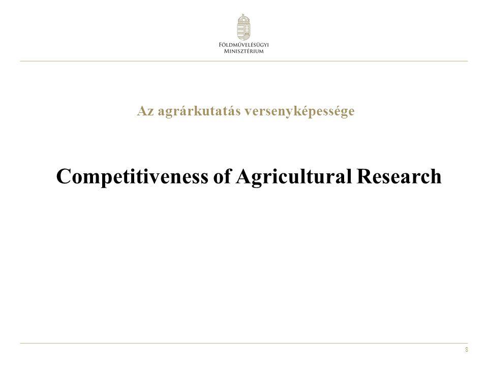9 Hazai növénytermesztési kutatások National Plant Production Research