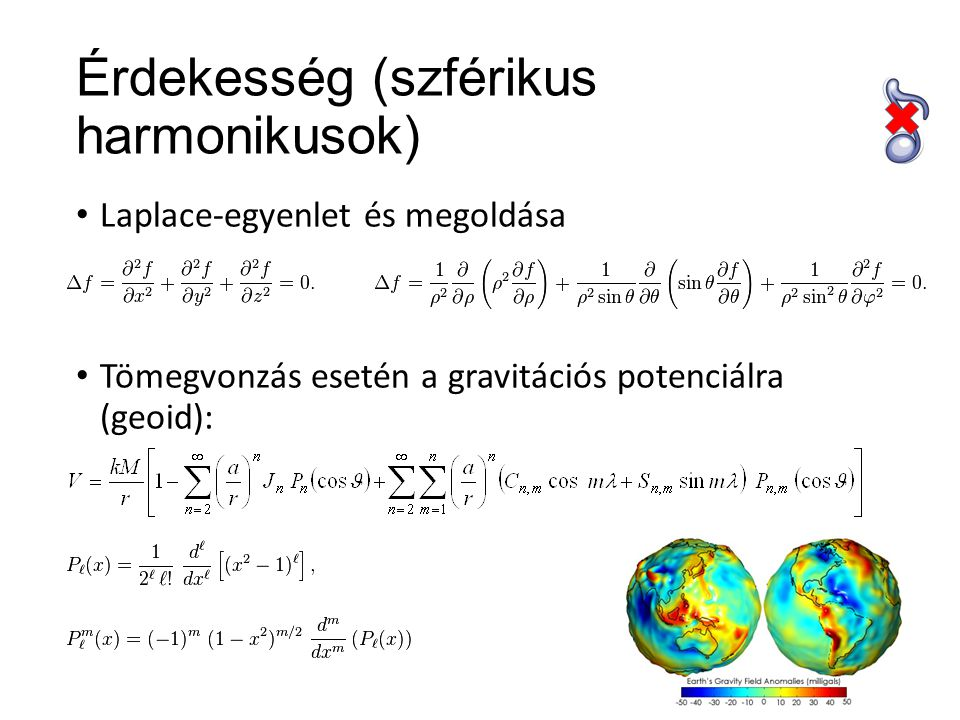 Legendre-polinomok (példák)