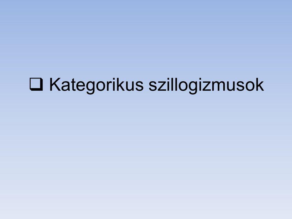 individuumnevek és predikátumok Individuumnevek: Szókratész, Platón mestere, a miniszterelnök, a kedvenc zeném, az ország legnagyobb bankja, a II.