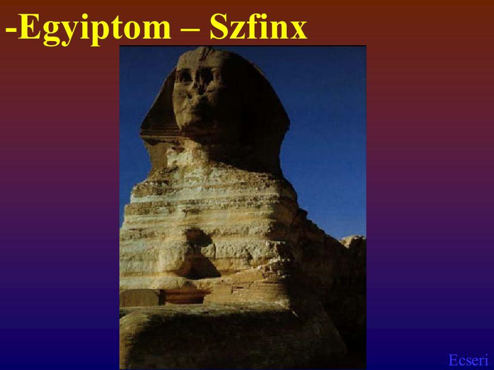 Ecseri -Egyiptom – Szfinx