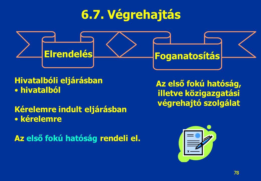 79 Végrehajtási módok és foganatosításuk Pénzfizetési kötelezettség Meghatározott tevékenység Ingó dolog kiadása Azonnali beszedési megbízás, Letiltás, Ingó, Ingatlan végrehajtás.