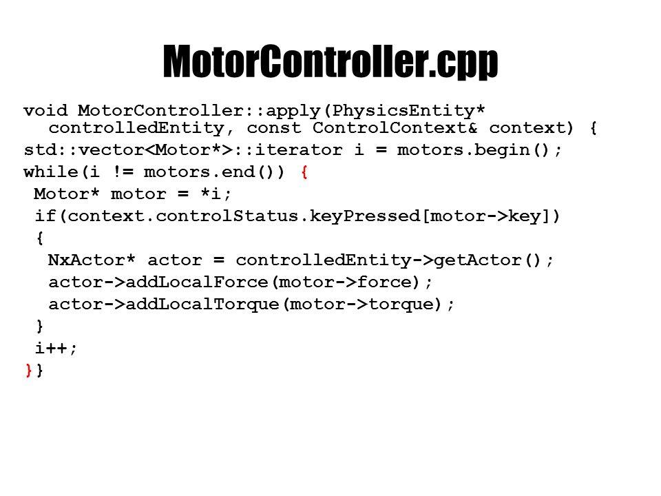 EngineCore-ba class MotorController; //class előtt ControllerDirectory controllerDirectory; void loadMotorControllers( XMLNode& xMainNode); void loadMotors( XMLNode& motorControllerNode, MotorController* motorController);