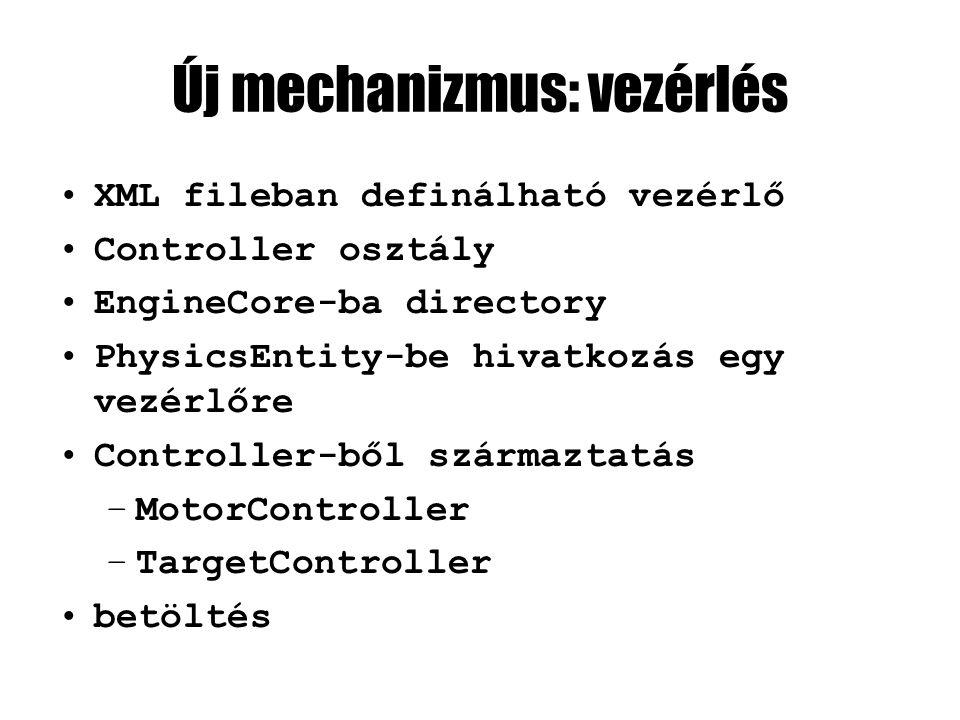 Új inline class: Controller #pragma once class PhysicsEntity; #include ControlContext.h /// Base class for rigid body control mechanisms.