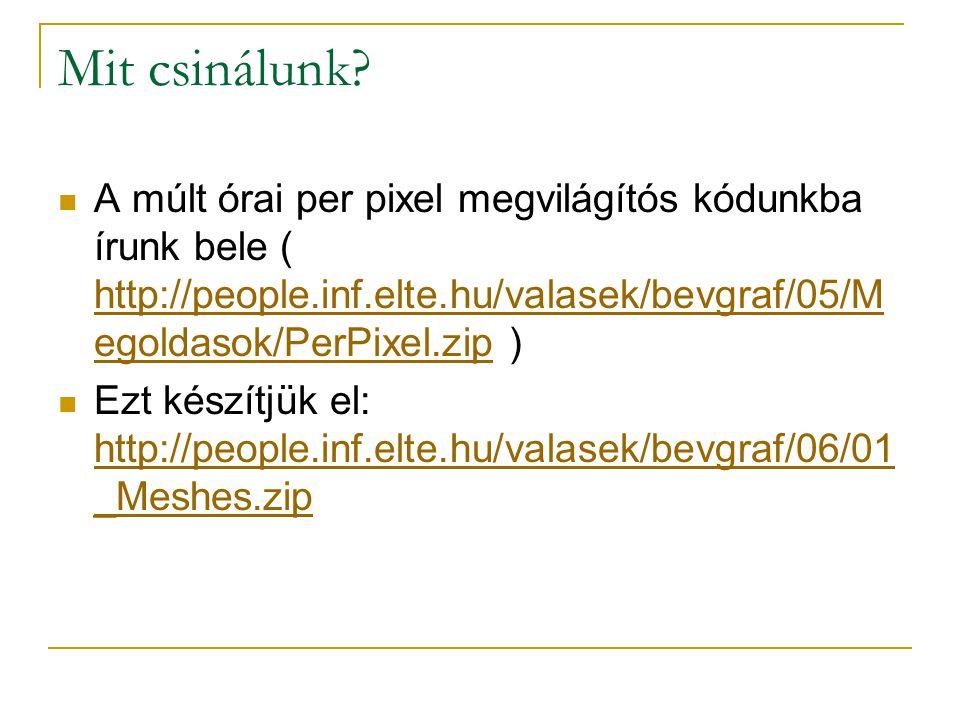 DXMyApp.h class CDXMyApp : public CDXAppBase {... private: LPD3DXMESH m_pMesh;... };