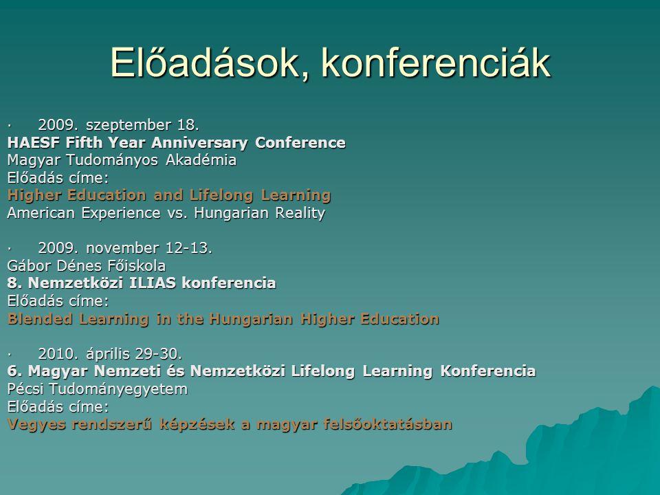 A felsőoktatás és az élethosszig tartó tanulás Az amerikai és a magyar tapasztalat összehasonlítása  Két US egyetem (Harvard, UCLA) felnőttképzési központjának bemutatása  Az európai dimenzió, a vonatkozó lisszaboni célkitűzések  Mit a magyar felsőoktatás viszonya az élethosszig tartó tanuláshoz?