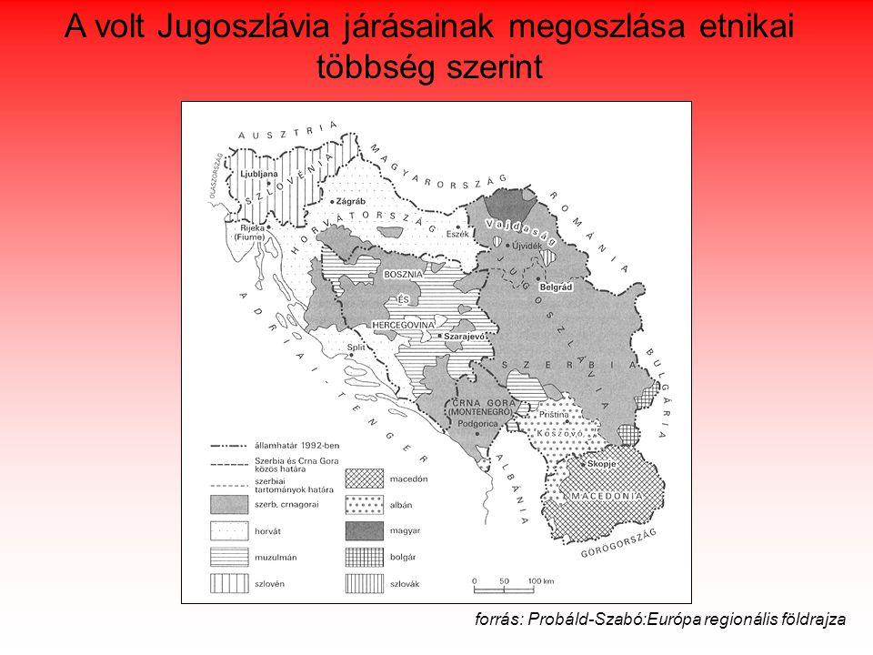 """szerbek visszautasították a felkínált autonómiát  1995 """"Villámcsapás hadművelet K-i határvidék ENSZ, fokozatosan horvát szuverenitás (1996-97) Szerbek ~180 e menekülésre késztetése 2001."""
