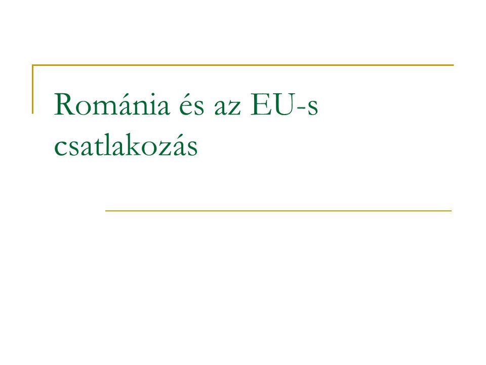 Problémafelvetés Visszatekintés Rendszerváltás utáni gazdaságpolitika A csatlakozás folyamata A csatlakozás után
