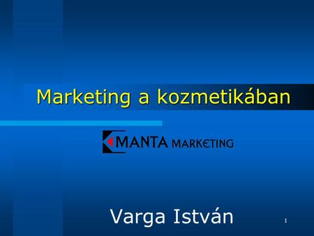 Marketing a kozmetikában