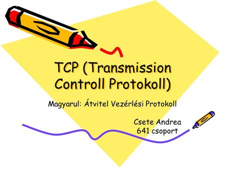 TCP (Transmission Controll Protokoll)