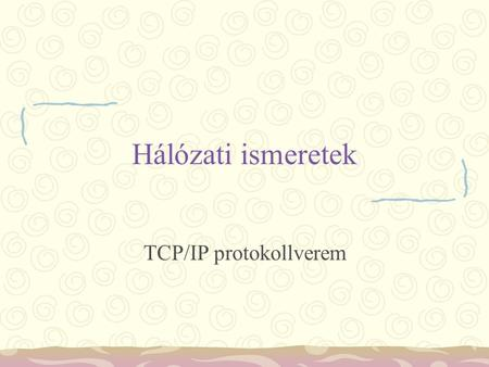 TCP/IP protokollverem