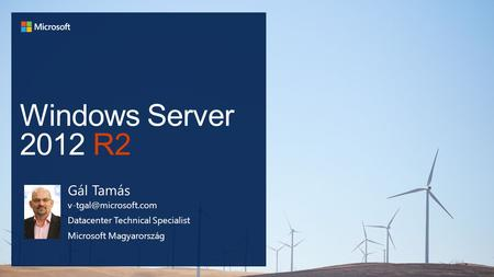 Windows Server 2012 R2 Gál Tamás