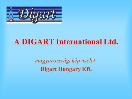 A DIGART International Ltd.