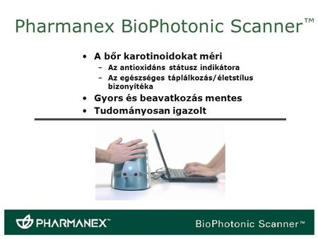 Pharmanex BioPhotonic Scanner™